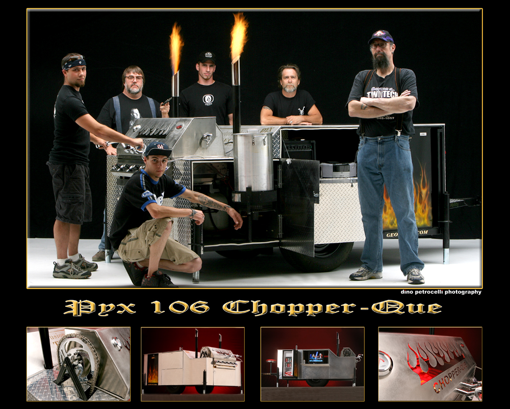 TWIN TECH AND PYX PRESENT CHOOPER - QUE